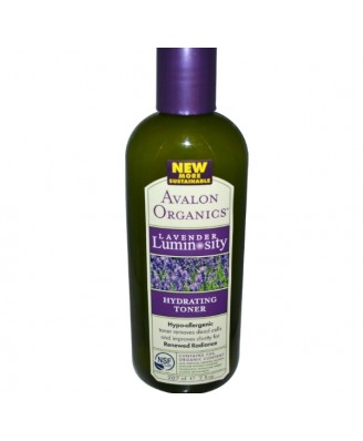 Hydraterende Toner, Lavendel Luminosity (207 ml) - Avalon Organics