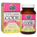 Vitamin Code - Raw B-12 (30 Vegetarian Capsules) - Garden of Life