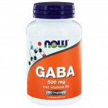 GABA 500 mg (100 vegicaps) - NOW Foods