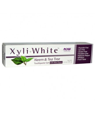 XyliWhite dentifrice Neem & Tea Tree (181 g) - Now Foods