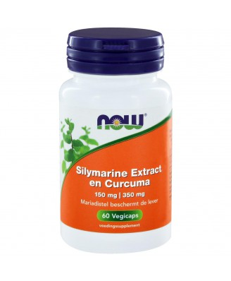 Now Foods, Silymarine, melkdistel Extract, 150 mg, 60 Vcaps