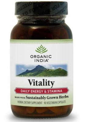 Formule vitalité (Veggie 90 Caps) - Organic India