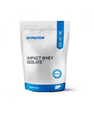 Impact Whey Isolate, Natural Vanilla, 2.5kg - MyProtein