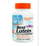 Doctor's Best, Best lutéine mettant en vedette Lutemax (60 gélules)