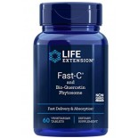 Fast-C® and Bio-Quercetin Phytosome (60 Vegetarian Tablets) - Life Extension