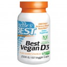 Vegetarische Vitamine D3, 2500 IE (60 Veggie Caps) - Doctor's Best