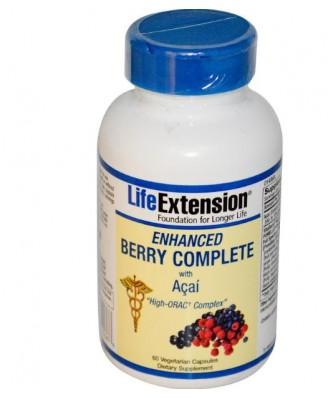 Complet avec Açaí (Veggie 60 Caps) -  améliorée Berry - Life extension