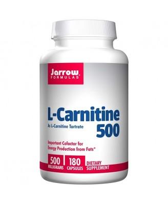 L-Carnitine 500 mg (180 Capsules) - Jarrow Formulas