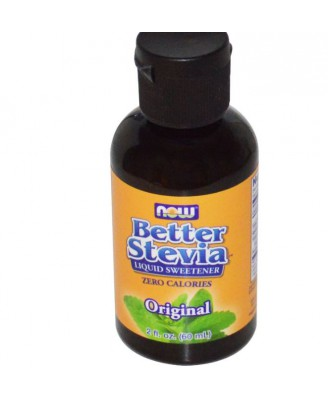 BetterStevia, extrait liquide (60 ml) - Now Foods