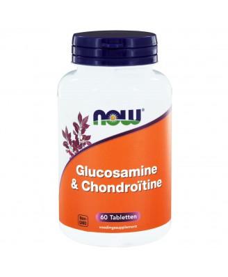 Glucosamine & Chondroïtine (60 tabs) - NOW Foods