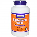 Now Foods, Pantothenic Acid, 500 mg, 250 Capsules