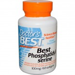 Best Phosphatidylserine 100 mg (60 Softgels) - Doctor's Best