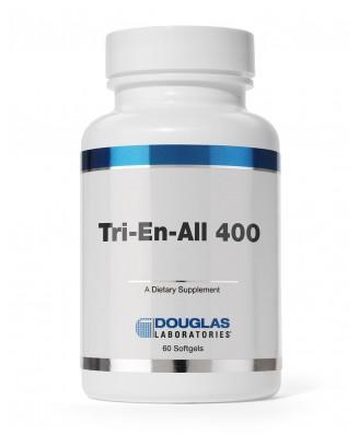 Douglas Laboratories,Tri-En-All 400 - 60 Softgel Capsules