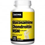 Glucosamine + Chondroitin + MSM Combination (240 Capsules) - Jarrow Formulas