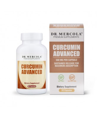 Curcumin Advanced 500 mg (30 Capsules) - Dr. Mercola