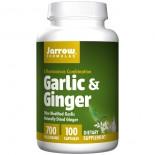 Garlic & Ginger 700 mg (100 Capsules) - Jarrow Formulas