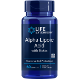 Alpha-Lipoique Super Avec Biotine 250 mg - 60 Gélules - Life Extension