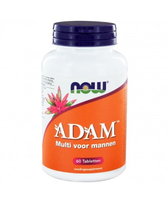 ADAM Multivitamine voor mannen (60 tabs) - Now Foods