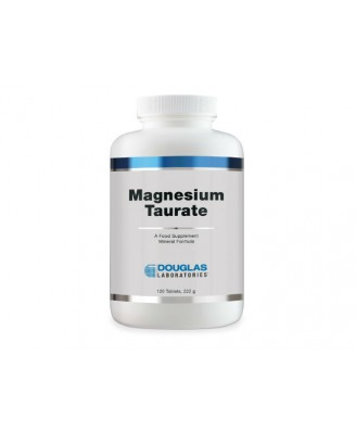 Douglas Laboratories, Magnesium Taurate 400, 120 Tablets