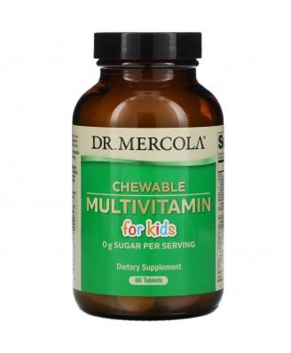 Children's Multivitamin Fruit Flavored Chewables (60 Tablets) - Dr. Mercola