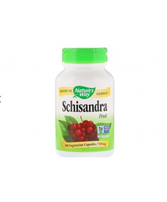 Nature's Way, Schizandra Fruit, 580 mg, 100 Capsules