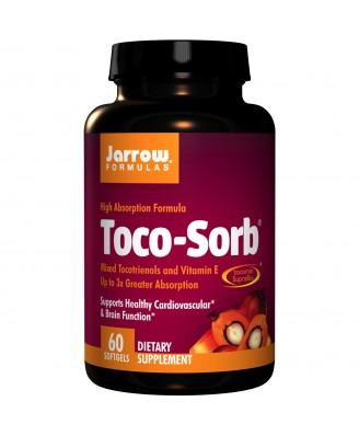 Jarrow Formulas, Toco-Sorb, Mixed Tocotrienols and Vitamin E, 60 Softgels
