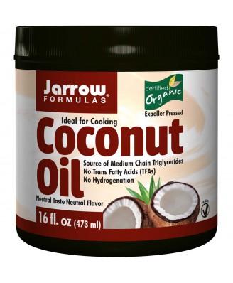 Jarrow Formulas, Organic, Extra Virgin Coconut Oil, 16 oz (473 g)