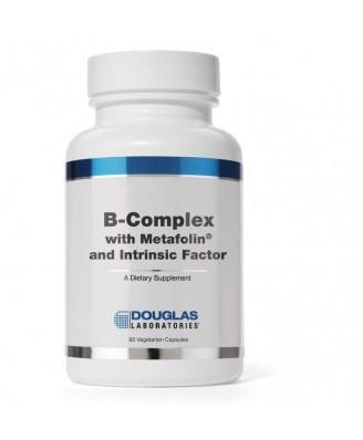 B-complex w/Metafolin® and Intrinsic Factor (60 vegetarian caps) - Douglas Laboratories