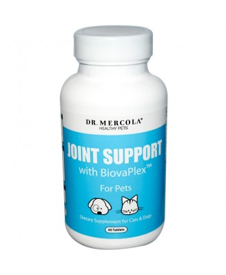 Healthy Pets Joint Support, with BiovaPlex for Pets (60 Tablets) - Dr. Mercola