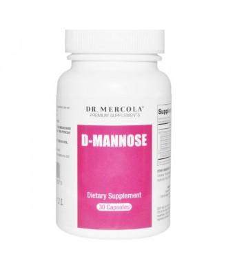 Dr. Mercola, D-Mannose avec Cran-Gyn DDS, 30 Capsules