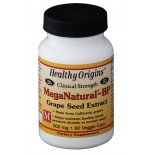 MegaNatural-BP Grape Seed Extract 300 mg (60 Veggie Caps ) - Healthy Origins