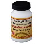 MegaNatural-BP Grape Seed Extract 300 mg (60 Veggie Caps ) - Healthy Origins