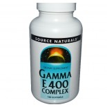 Source Naturals, Gamma vitamine E 400 Complex, 120 Softgels