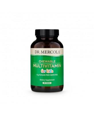Saveur de Fruit multivitamines pour enfants croquer (60 comprimés) - Dr. Mercola