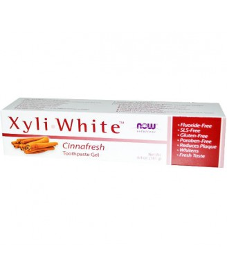 Xyliwhite Tandpasta Cinnafresh (181 gram) - Now Foods