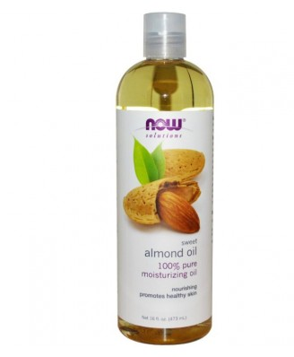 Now Foods, Solutions, Sweet Almond Oil, 16 fl oz (473 ml)