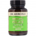 Folate  5 mg  30 Capsules - Dr. Mercola