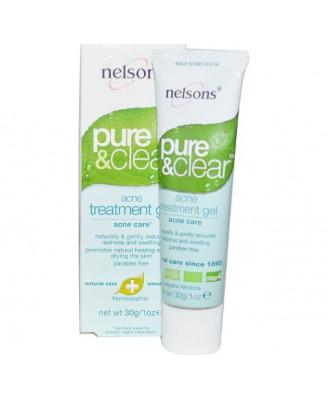Pure & Clear Acne Behandelingsgel (30 gr) - Nelson
