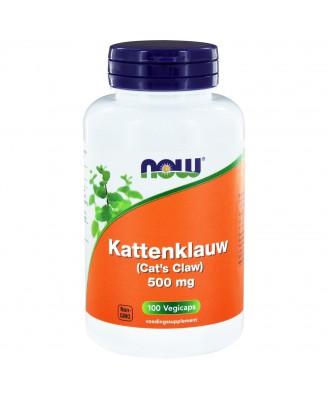 Kattenklauw 500 mg (100 vegicaps) - NOW Foods
