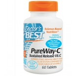 Doctor's Best, PureWay-C, Sustained Release Vit. C, 60 Tablets