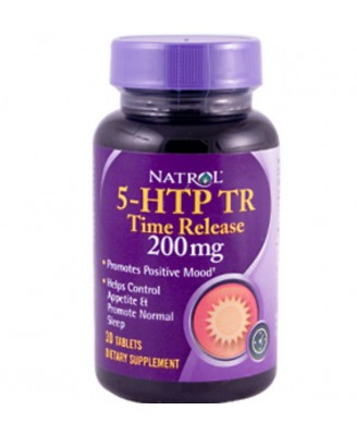 5-HTP Time Release 200 mg (30 Tablets) - Natrol