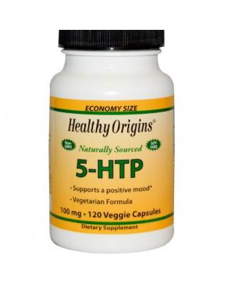 Natuurlijke 5-HTP, 100 mg (120 Capsules) - Healthy Origins