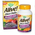 Alive! Een Per Dag Multivitamine, Vrouwen 50+, Hoge Dosering - Nature's Way