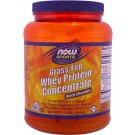 Grass-Fed Whey Protein Concentrate- Dutch Chocolate (544 gram) - Now Foods