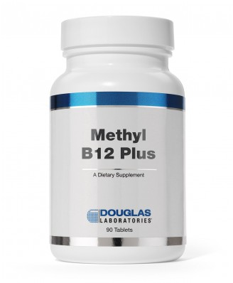 Douglas Laboratories, Méthyl B12 Plus, 90 comprimés