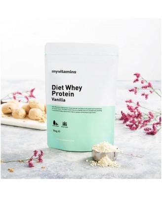 Diet Whey Protein - Strawberry 1kg (Myvitamins) (1000 gram) - Myvitamins
