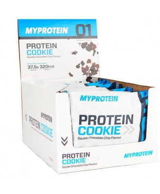 MP Max Protein Cookie, White Chocolate Almond, Box, 12 x 75g - MyProtein