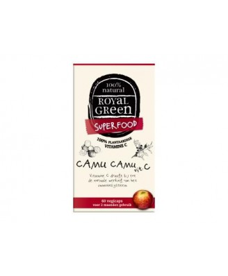 Camu Camu C – 120 vcaps – Royal Green
