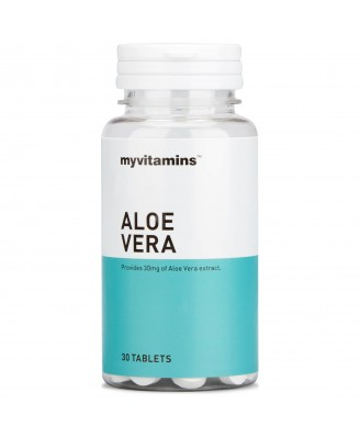 Aloe Vera (30 Tablets) - Myvitamins
