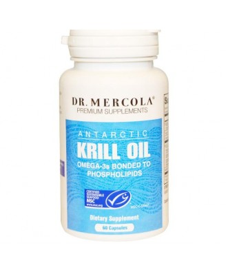 Krill Olie, 1000 mg (60 softgels) - Dr. Mercola